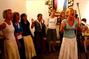 Śpiewaki pielgrzymkowe trzęsą kościołem