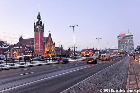 Gdańsk Główny, 17:21 ( 20 II 2009 )