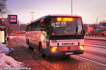 Autobus w Gdańsku Głównym