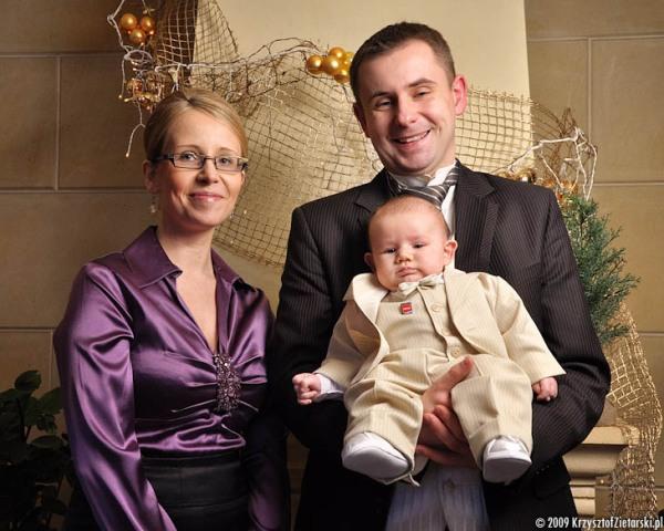 Rodzinna sesja zdjęciowa ze chrztu - Gdańsk, Gdynia, Sopot