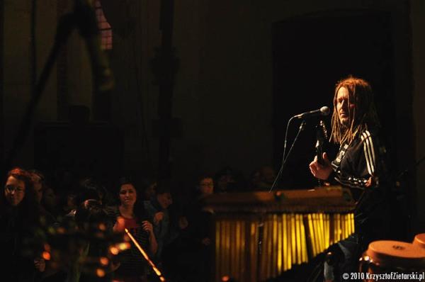 Koncert Maleo Reggae Rockers w Gdańsku, 9.04.2010 - kościół pw.Trójcy Świętej