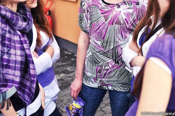 Moda na fiolet - ubrania
