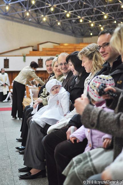 Chrzest Izabeli w Gdyni - Zdjęcia ze Chrztu Sopot - Fotograf na Chrzest Gdańsk