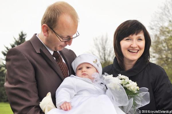 Sesja plenerowa - zdjęcia z chrztu Gdańsk, Gdynia - Fotograf na Chrzest