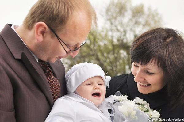 Plenerowa sesja rodzinna - zdjęcia z chrztu Gdańsk, Gdynia - Fotograf na Chrzest