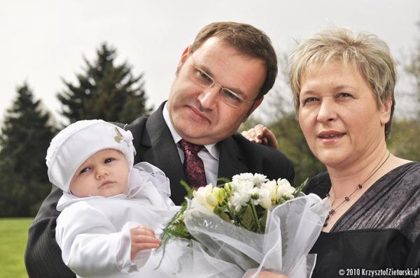 zdjęcia z rodzicami Chrzestnymi - zdjęcia z chrztu Gdańsk, Gdynia - Fotograf