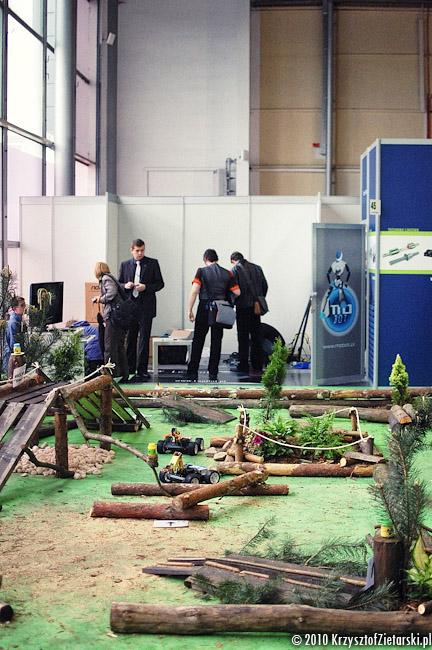 Zdjęcia z targów Automa 2010 w Poznaniu - rekord Guinessa